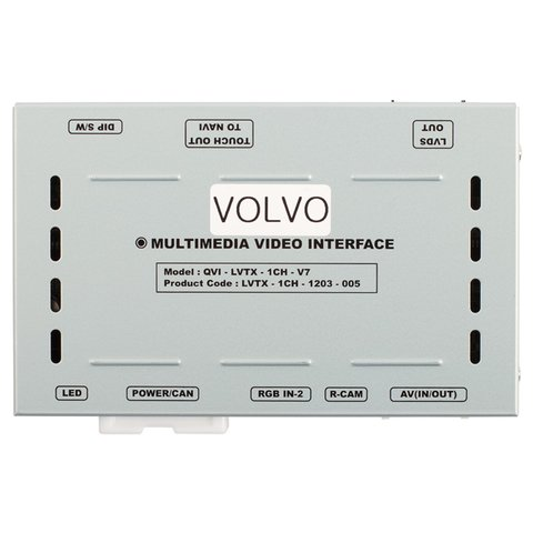 Video Interface for Volvo S60, S80, V40, XC60 of 2010-2014 MY Preview 16
