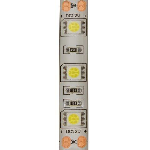 Світлодіодна стрічка SMD5050 (над'яскрава, холодний білий, 300 світлодіодів, 12 В DC, 5 м, IP65) Прев'ю 1