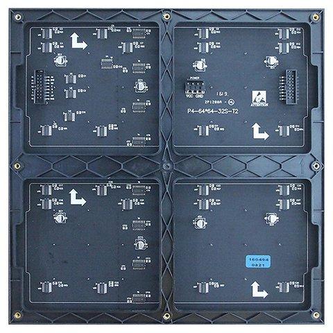 LED-модуль для реклами (RGB SMD2121, 256 × 256 мм, 64 × 64 точок, IP20, 1000 нт) Прев'ю 1