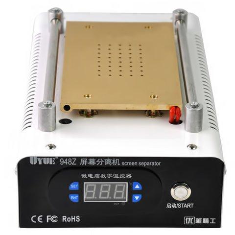 """Пристрій для розклеювання дисплейного модуля (сепаратор) UYUE 948Z для планшетів; мобільних телефонів, використовується для екранів до 7 """", з вакуумним насосом Прев'ю 4"""