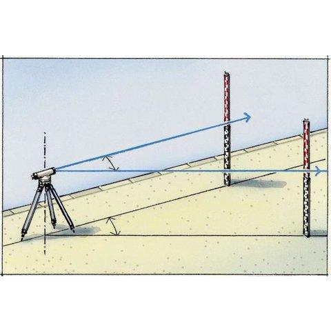 Нівелірна рейка Laserliner Teleskop-Nivellierlatte 4 m Прев'ю 5