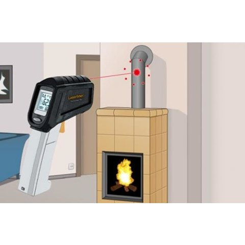 Пірометр Laserliner ThermoSpot Plus Прев'ю 1