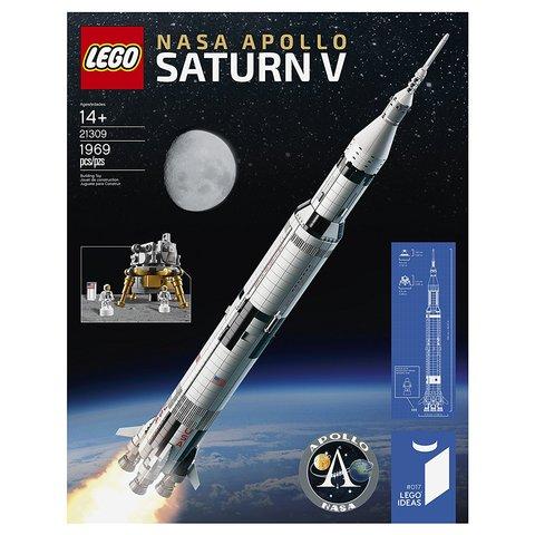 Конструктор LEGO Ideas NASA Аполлон Сатурн-5 21309 Превью 6