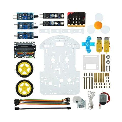 Конструктор на базі micro:bit Розумний робот-пожежник + посібник користувача Прев'ю 5